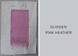 Glidden Pink Heather, Best Pink Paint Colors, Remodelista