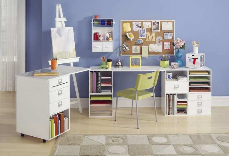 Go Organize Craft Storage Desk