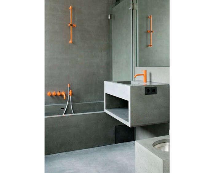 Grey-and-Orange-Bathroom-Concrete