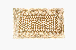 Habidecor Dolce Bath Mat in Spotted Print from Art-Object | Remodelista