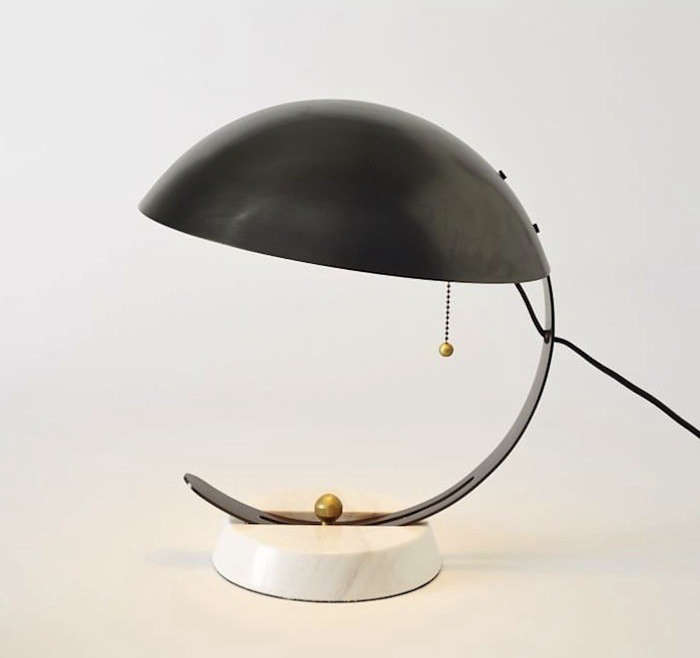 High Low The Half Moon Table Lamp Remodelista