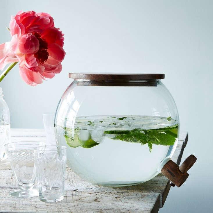 Handblown-Glass-Drink-Dispenser-Food-52-Remodelista