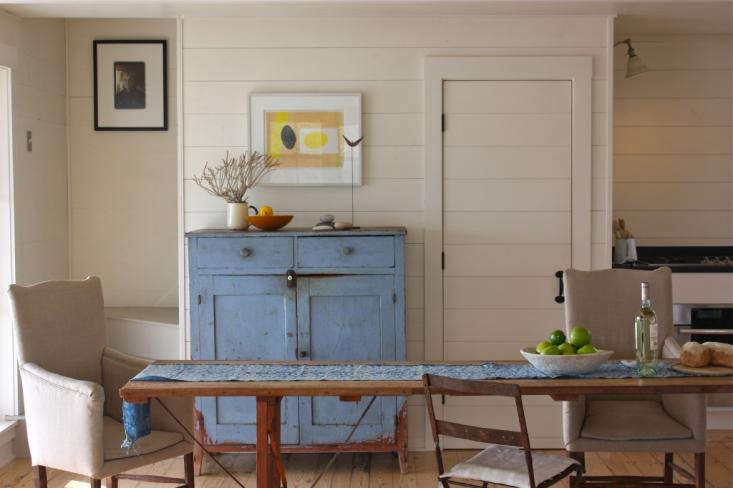 Harbor Cottage Maine, dining area, FRAMe arch, image by Justine Hand