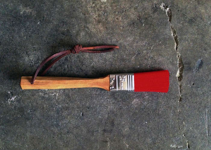 Hatchet-and-Bear-Red-Pastry-Brush-Remodelista