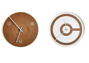 Heath Ceramics Clocks Designed by Commune in LA | Remodelista