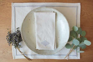 Heather Taylor Nickey Kehoe Napkins/Remodelista