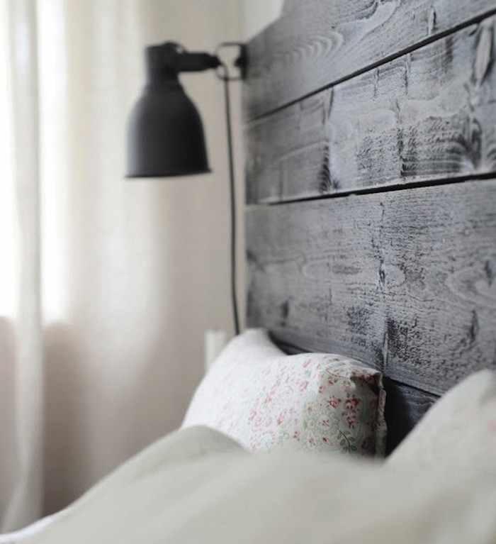 Design sleuth a simple bedside light fix for 15 remodelista - Cabecero malm ikea ...