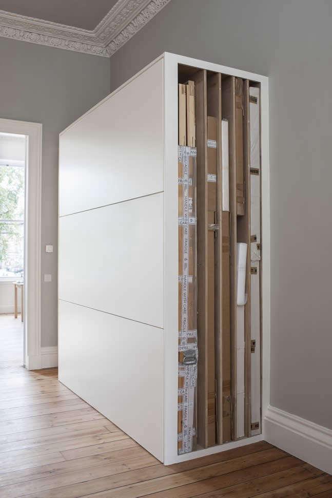 Helen-Lucas-Architects-Alison-Watts-Studio-art-storage-Angus-Bremner-Remodelista