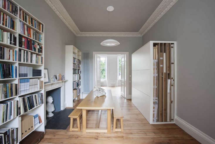 Helen-Lucas-Architects-Alison-Watts-Studio-with-table-Angus-Bremner-Remodelista