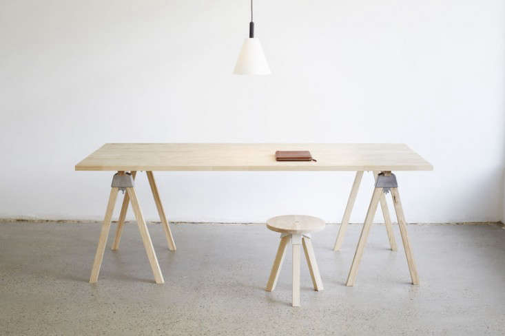 Economy Style 6 Trestle Desks For The New Year Remodelista