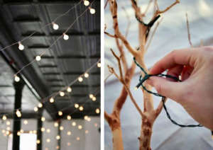 Holiday String Lights via Gardenista | Remodelista