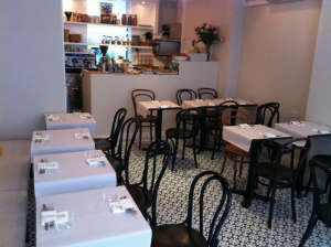 Honey & Co, London Restaurant, Thonet Chairs, Photo by Heloise Faure | Remodelista