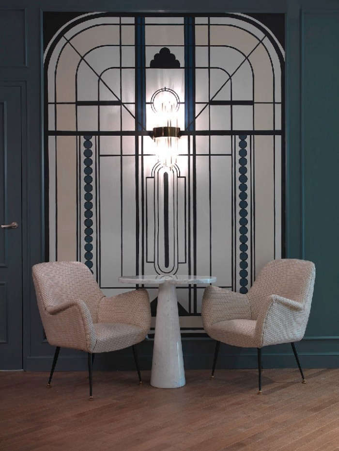 Moody blues the hotel bachaumont in paris remodelista - Hotel art deco paris ...