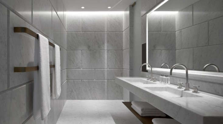 london 39 s sleekest spa courtesy of david chipperfield remodelista. Black Bedroom Furniture Sets. Home Design Ideas