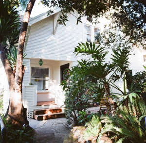 House Call with Los Angeles Jeweler Kathleen Whitaker, Echo Park, Front Porch | Remodelista
