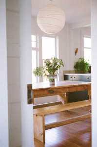 Diffuse Light Pendant, Kathleen Whitaker, Echo Park Kitchen | Remodelista