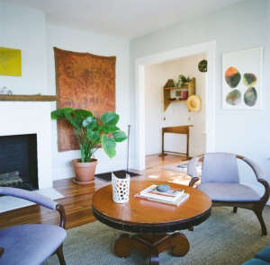 House Call with Los Angeles Jeweler Kathleen Whitaker, Echo Park, Living Room | Remodelista