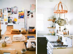 House Call with Los Angeles Jeweler Kathleen Whitaker, Echo Park, Studio and Kitchen | Remodelista