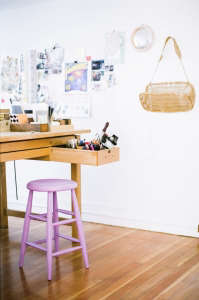 House Call with LA Jewelry Designer Kathellen Whitaker in Echo Park, Studio | Remodelista