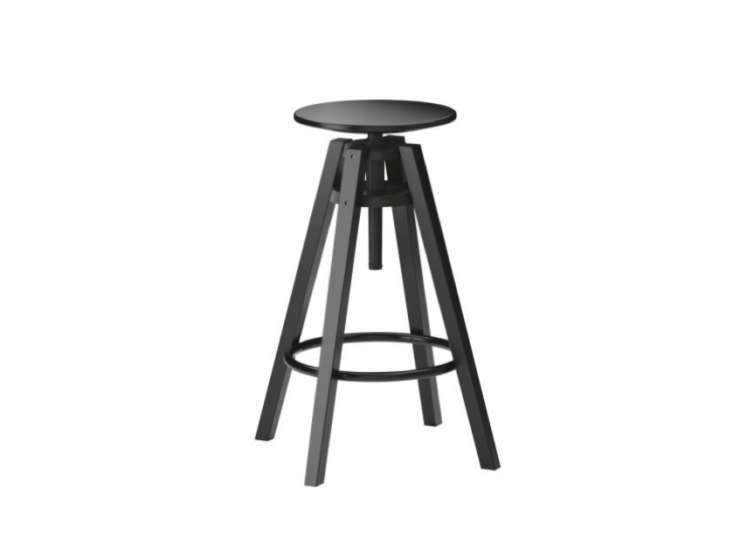 Ikea-Dalfred-Stool-in-Black