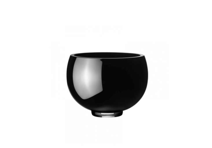 Ilse-Bowl-Medium-Black-Glass-Ilse-Crawford-Remodelista