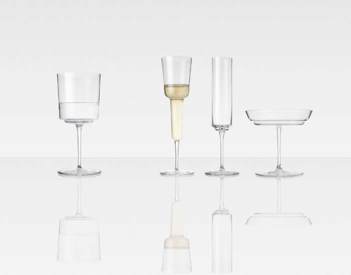 Ilse-Crawford-and-Michael-Anastassiades-Champagne-Glasses-Remodelista