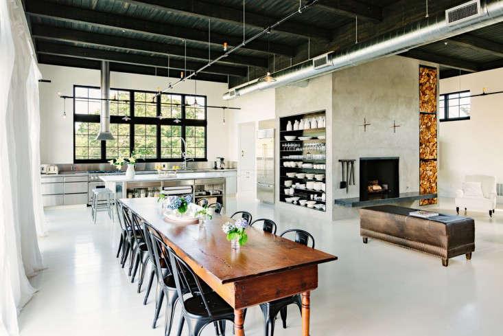 Loft living an energy efficient oasis in portland oregon for Living room 101 atlantic ave boston