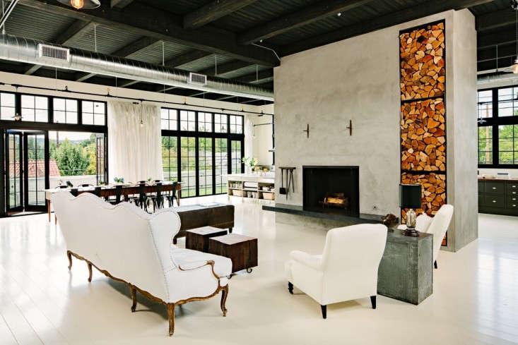 Industrial-Portland-loft-living-room-Remodelista