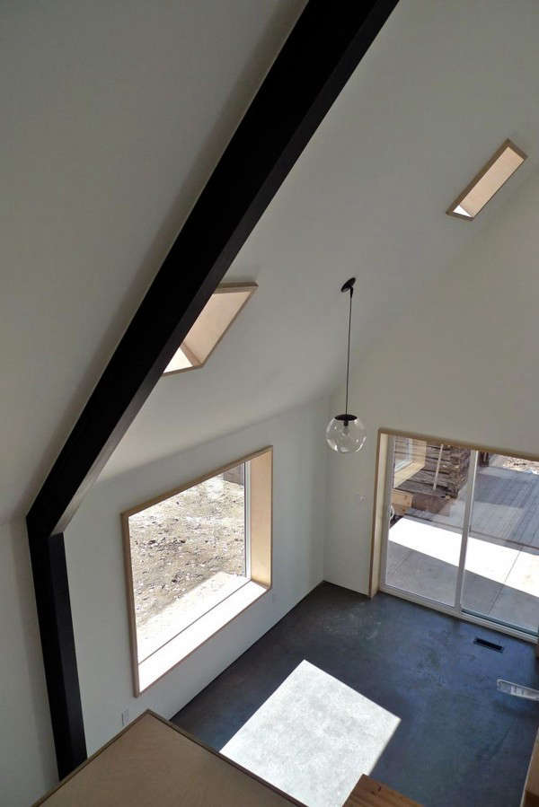 Interior of Small Cabin Farmhouse with Lofted Modern Ceiling, Remodelista