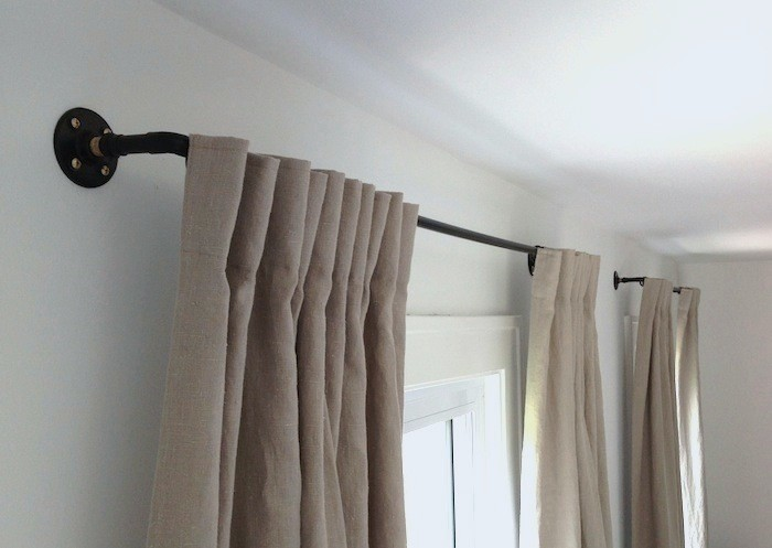 Diy How To Make A Copper Pipe Curtain Rod For Remodelista