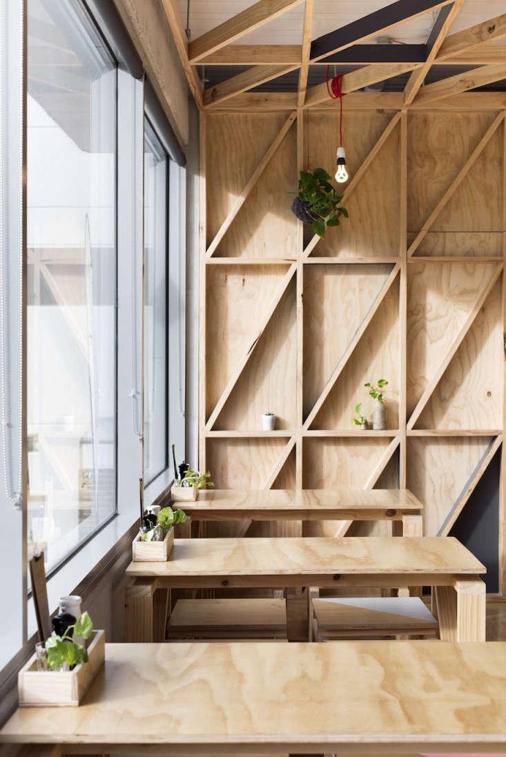 Jury a cafe in a converted prison remodelista for Melbourne design studios