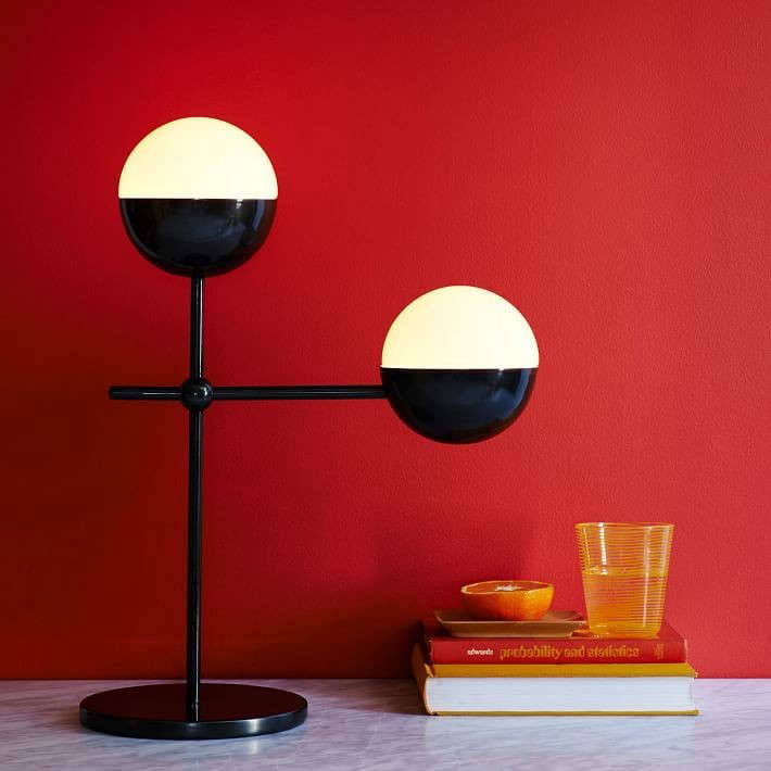 High Low The Black And White Globe Light Remodelista