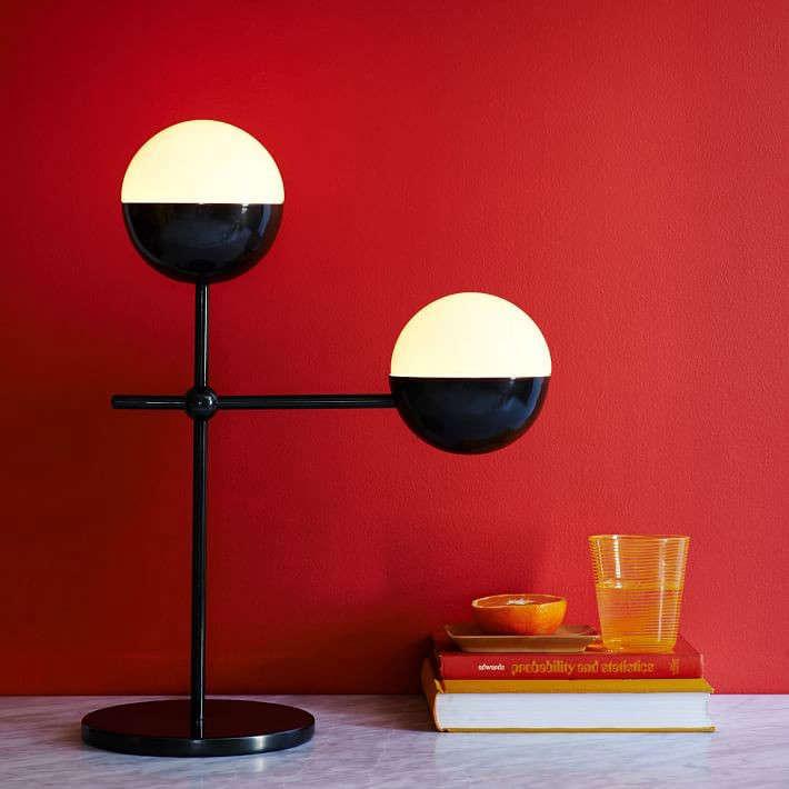 kate spade saturday globe table lamp remodelista. Black Bedroom Furniture Sets. Home Design Ideas