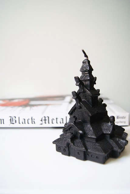 Kirkebrann-black-wax-candle-remodelista