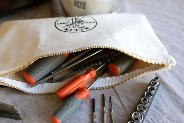 Klein Canvas Tool Bag with HDX Screwdriver Set, Remodelista