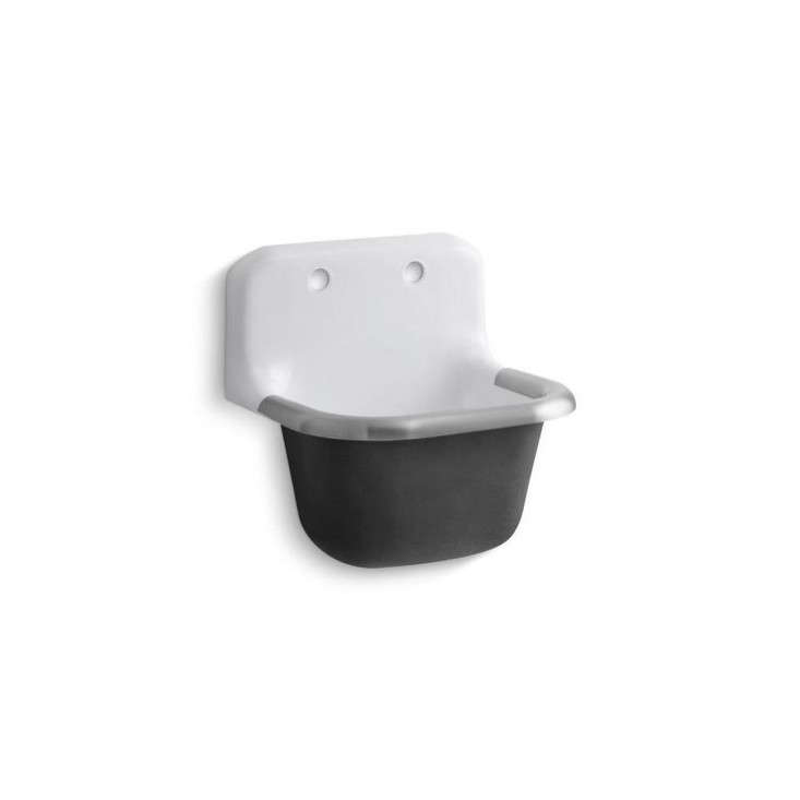Cast Iron Sink : Kohler-Bannon-Wall-Mount-Cast-Iron-Sink-Remodelista.jpg