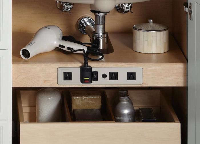 Kohler Tailored Vanity Electrical Outlet Shelf Remodelsita