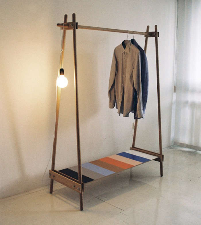 10 easy pieces freestanding wooden clothing racks remodelista. Black Bedroom Furniture Sets. Home Design Ideas