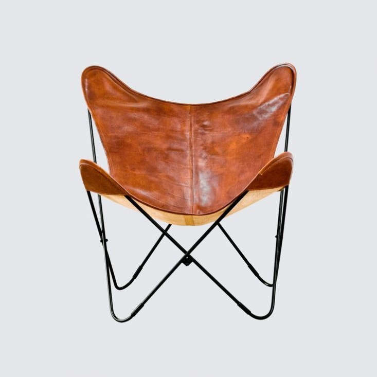 Leather-Butterfly-Chair-The-Citizenry-Remodelista