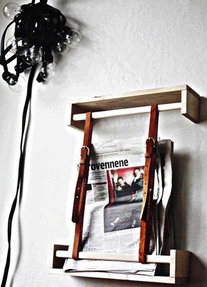 Leather-strap-diy-magazine-holder-Remodelista