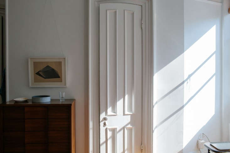 Photograph of interior door casings from Designer Lena Corwin at Home in Fort Greene.