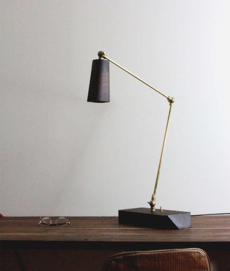 allied maker 39 s leo task lamp remodelista. Black Bedroom Furniture Sets. Home Design Ideas