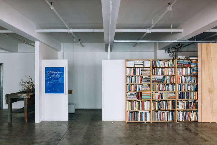 Lindon Studio Bookshelves Los Angeles Jessica Commingore Photography