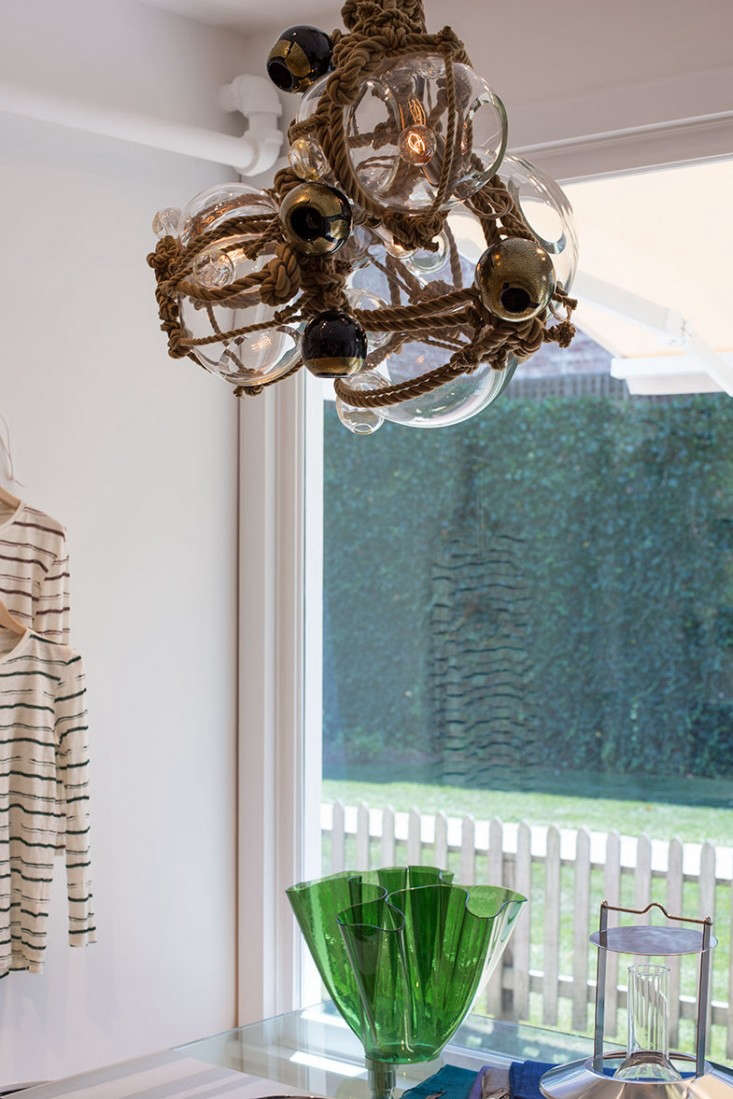Lindsey-Adelman-Knotty-Bubbles-Chandelier-at-Turpan-East-Hampton-Remodelista