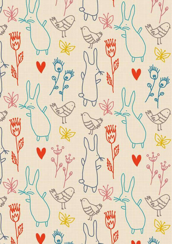 Little_Cube_little_rabbits_flowers