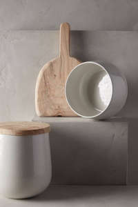 Lost & Found-Anthropologie chef canister | Remodelista