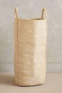 Lost & Found Anthropologie woven basket | Remodelista