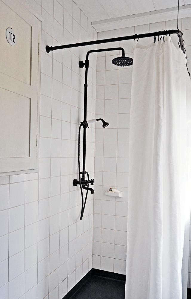 13 noirish black and white bathrooms remodelista