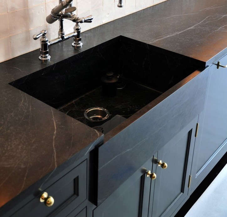 drawbacks of a black kitchen sink remodeling 101 soapstone countertops remodelista 9617