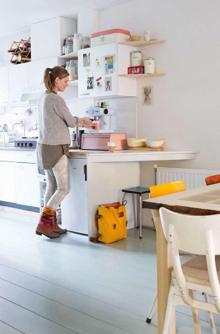 Maartje Van Den Noort in her Amsterdam Kitchen